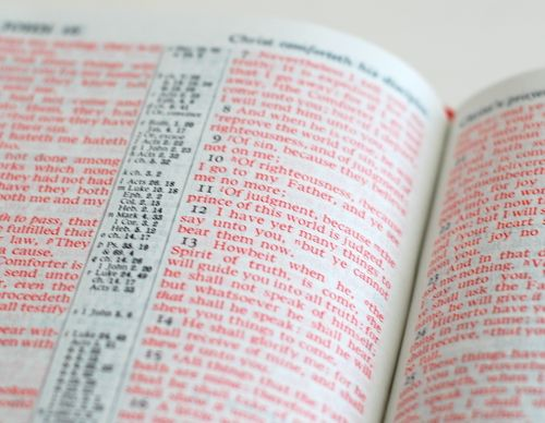 Red Letter Bibles — Bible Design Blog