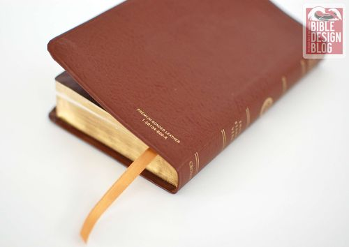 Beater Bibles 101: Compact ESV in British Tan Bonded Leather
